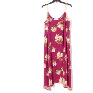 Ashley Stewart Women Maxi Dress 3X 26 28 Plus